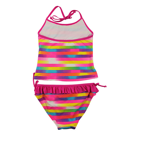 Rainbow stripes tanknis for girls