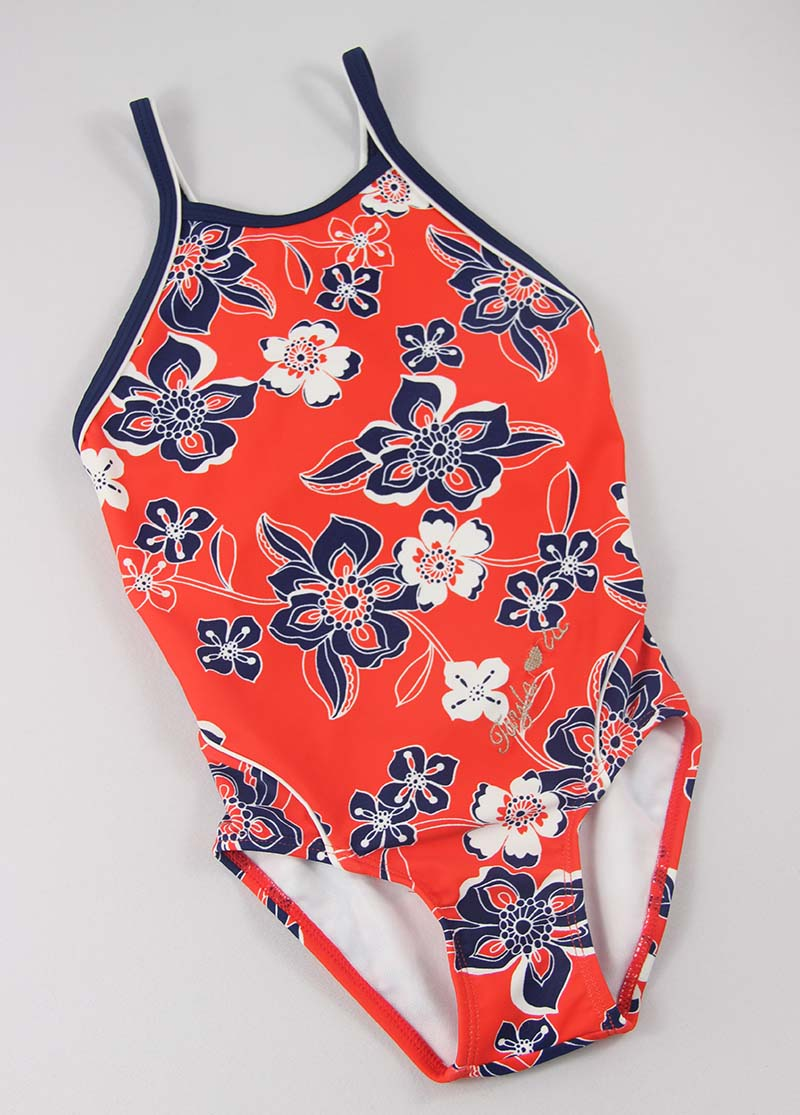 Girls one piece swimsuits maker