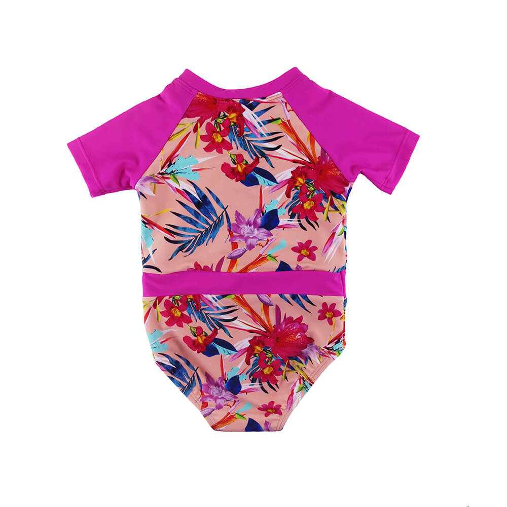 baby girl rash guard