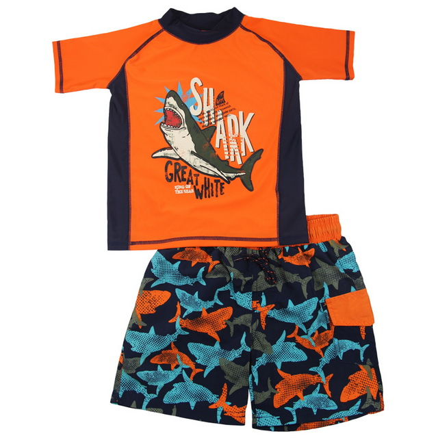Rash guard sets for boys