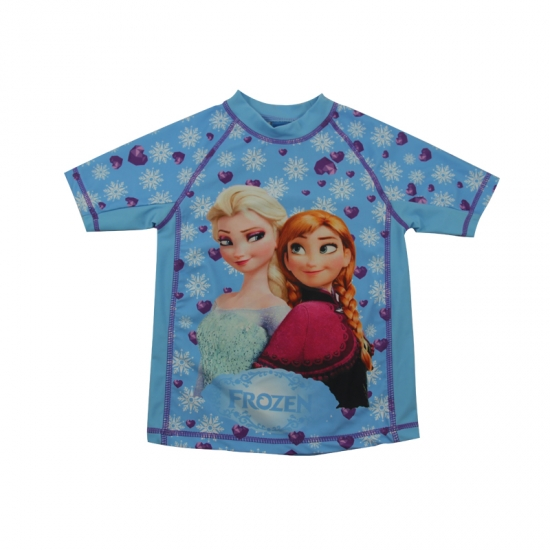 Frozen sisters rash guard shirt
