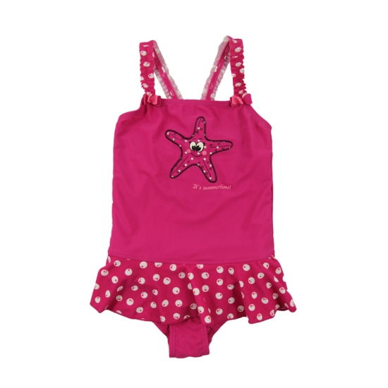 Baby girls one piece swimwear