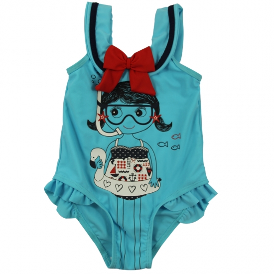 Baby girls one piece beach wear