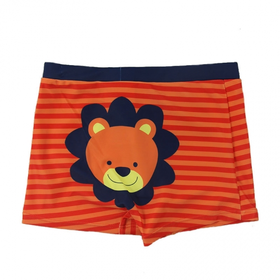 Stripes board shorts for kid boys