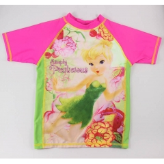Disney Mädchen rash Guard top