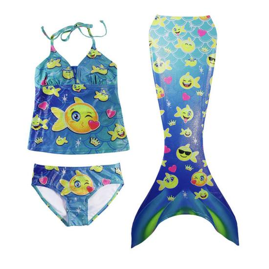 bathing suit toddler mermaid